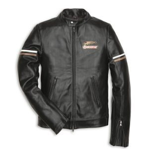 Dainese Ducati Lederjacke Giubbino 60's Uomo Taglia