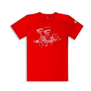 Ducati V4 Graphic T-Shirt