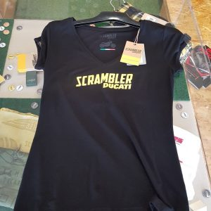 Ducati T-Shirt Midnight Scrambler Donna Lady Frauen