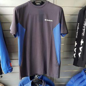 Suzuki T-Shirt Black Blue