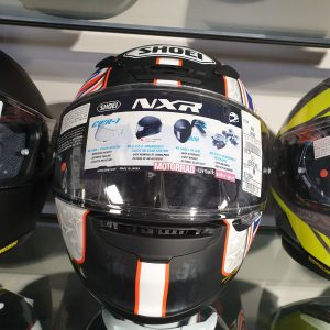 Shoei NXR Shane Byrne Replica Helm