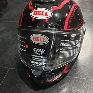 Bell Star Red Integralhelm