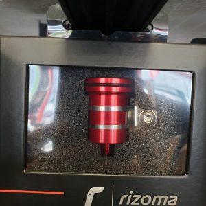 Rizoma Bremsflüssigkeitsbehälter Rot ohne Fenster
