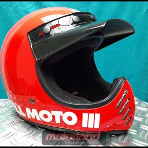 BELL Motorrad Integralhelm Helm – Moto 3 Classic Red in M