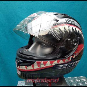 BELL Motorrad Integralhelm Helm – Qualifier DLX in Größe L