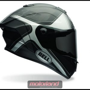 BELL Motorrad Integralhelm Helm Tracer – Race Star Größe L