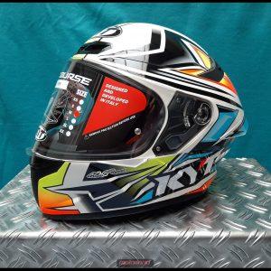 Motorradhelm KYT TT-COURSE Graphic Radiance NEU