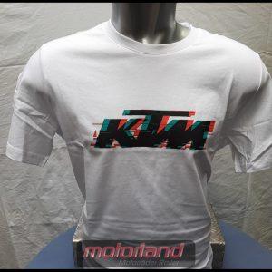 KTM T-Shirt Radical Logo Tee White/Weiß T-Shirt