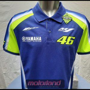 Polo Shirt Yamaha official Valentino Rossi VR46 / Yamaha Racing-Print