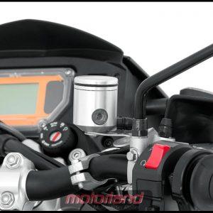 RIZOMA Ausgleichsbehälter (Kupplung/Bremse) CT025A neu silber