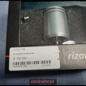 RIZOMA Ausgleichsbehälter Kupplung CT017A neu silber