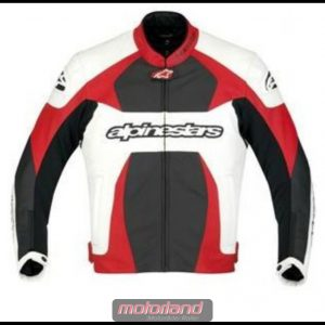 Alpinestars Lederjacke GP Plus White/Red/Black 3100911 Größe 54 NEU