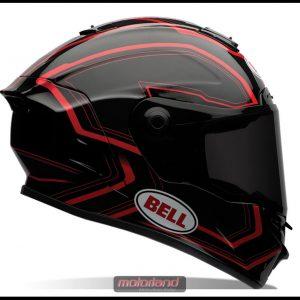 Bell Star Pace Black/Red Motorradhelm Helm Motorradhelm neu Restposten
