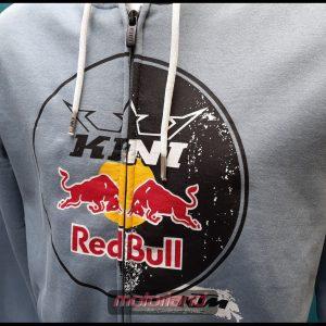 KTM Hoodie MENS CIRCLE Jacke NEU Red Bull Logo hellblau div. Größen