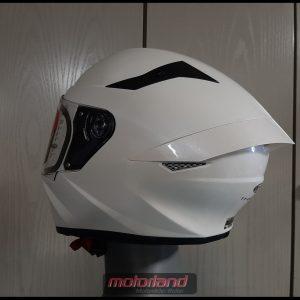 KYT Motorradhelm Integralhelm TT – COURSE in White Design