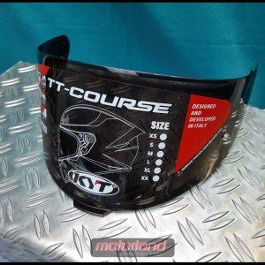 KYT Helm Visier TT Course Visier dunkel dark schwarz Austauschvisier
