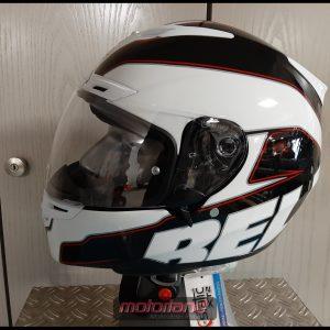 BELL Motorrad Integralhelm RS-1 white in Größe M
