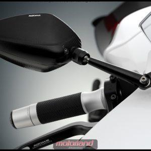 RIZOMA BS150B Aluminium Spiegel Limit Supersport Neu in schwarz